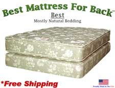 California Queen Best, Best Mattress For Back